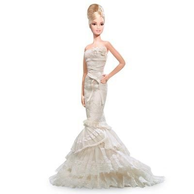 Vera Wang 'Romanticist' Bride Barbie バービー Doll (Platinum Label) 人形 ドール