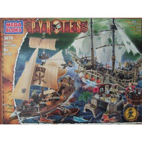 MEGA BLOKS Pyrates Battle at Skull Haven #3678