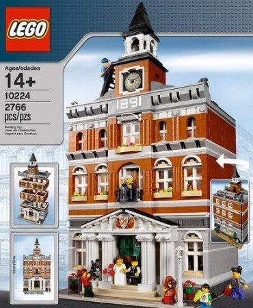 LEGO (レゴ) Creator Town Hall 10224 ブロック おもちゃ