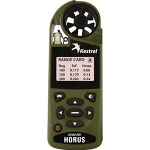 Kestrel Shooter's Weather Meter with Horus Ballistics Calculator Small Olive Drab