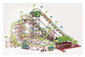 K'NEX (ケネックス) Thrill Rides Son of Serpent Coaster ブロック おもちゃ