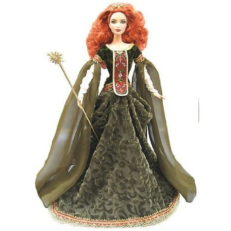 Barbie(バービー) Platinum Label Doll - Deirdre of Ulster - Legends of Ireland Collection ドール 人