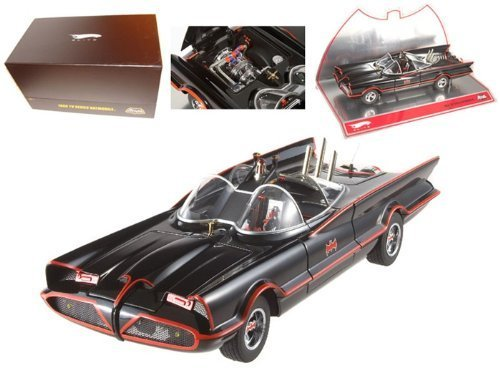 1966 Batmobile from the 1960's TV Series Super Elite Highly Detailed 1:18 スケール Collectible Die 数量限定,安い