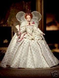 Queen Elizabeth I Barbie(バービー) ドール 人形 フィギュア