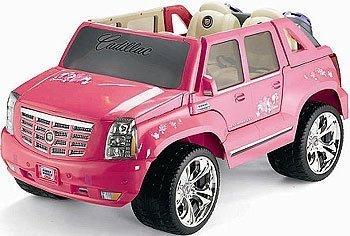 Power Wheels Barbie バービー Pink Cadillac Escalade 人形 ドール