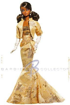 2009年モデル Golden Gala バービーフィギュア人形 1/6