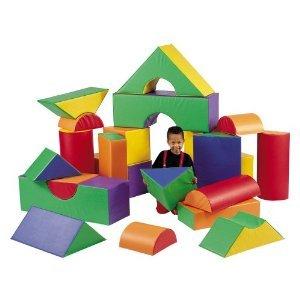 12 in. Big Blocks Set A and B ブロック おもちゃ