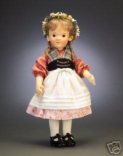 Steiff Bears & R John Wright Doll Kinder Series Children Katharina 人形 ドール