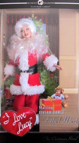 I Love Lucy ETHEL MERTZ Santa Barbie バービー Doll 人形 ドール