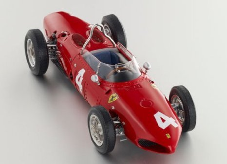 1961 Ferrari (フェラーリ) Dino 156 F1 Sharknose No. 4 ,LE 500 pieces by CMC in 1:12 スケール ミニ