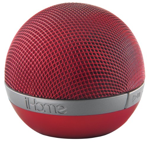 iHome IDM8 Bluetooth Speaker Red