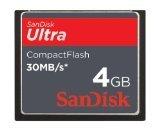 サンディスク 4GB Ultra コンパクトフラッシュカード SDCFH-004G-A11
