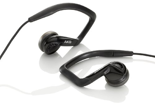 AKG アーカーゲー K326 High- Performance Sports Headset (Black)