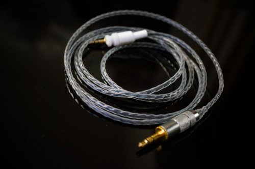◆ベーシックモデル◆Effect Audio Studio Crystal SHURE SRH 440 750DJ 840 940 対応 UPGRADE CABLE◆交