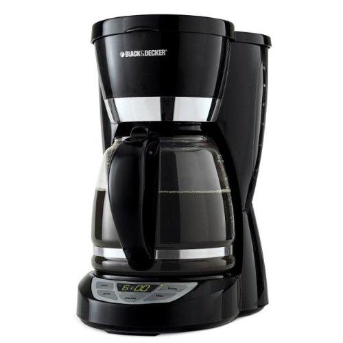 Black & Decker コーヒーメーカー CM1050B 12-Cup Programmable Coffeemaker, Black