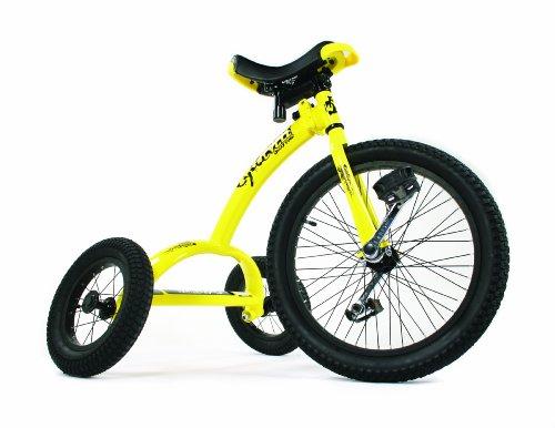 Dynacraft 20インチ Cyco cycle 3輪ですが、一輪車スタイルのサドル  アメリカ販売品