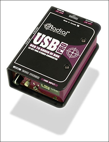 65%OFF【送料無料】 Radial ダイレクト USB-PRO ラディアル USB USB ダイレクト ラディアル ボックス, 中郷村:9af85ce5 --- clftranspo.dominiotemporario.com