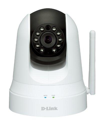 D Link ワイヤレス昼夜用 Wi-Fi セキュリティーカメラ DCS-5020L