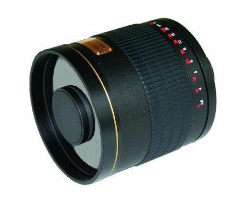 Rokinon ED500M-B-AI 500mm F6.3 Mirror Lens for Nikon (Black)