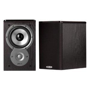 Polk ポーク Audio TSi100 Bookshelf Speaker スピーカー (Pair ペア, Black)