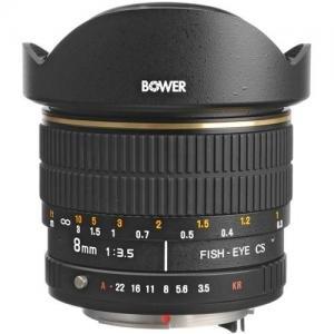 Bower バウアー SLY 358P カメラレンズ 8mm f/3.5 Fisheye Lens For Pentax APS-C Cameras