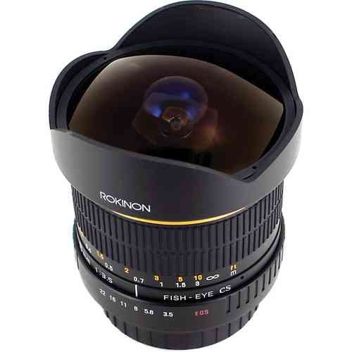 Rokinon ロキノン 8mm Ultra Wide Angle f/3.5 Fisheye Lens 魚眼 for Canon EF Mount (キヤノンEFマウン