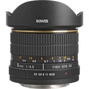 Bower バウアー SLY 358S カメラレンズ 8mm f 3.5 Fisheye Lens For Sony Minolta APS-C Cameras 季節のご挨拶 新築祝 金婚式 お礼 ホワイトデー