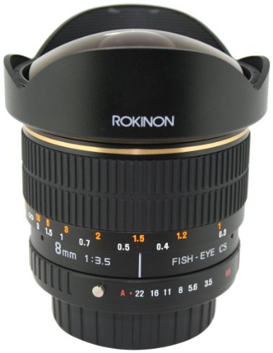 Rokinon 返品交換不可 FE8M-P 8mm 訳ありセール 格安 F3.5 Fisheye Lens for Pentax Black