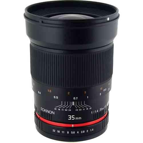 【保証書付】 Rokinon Rokinon ロキノン 広角 35mm f/1.4 Wide-Angle US UMC Aspherical for Lens 広角 for Canon (キヤノンEFマウント), Colors Pro:5452fabb --- experiencesar.com.ar