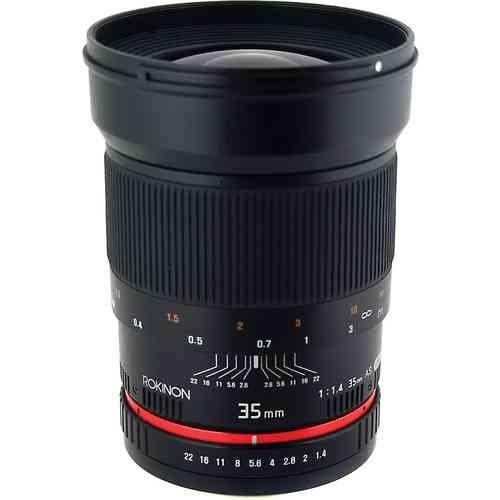 Rokinon ロキノン 35mm f/1.4 Wide-Angle US UMC Aspherical Lens 広角 for Sony (ソニ-αマウント)