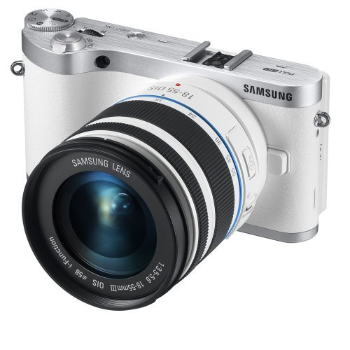 Samsung NX300 20.3MP CMOS Smart WiFi Compact Interchangeable Lens Digital Camera with 18-55mm Lens