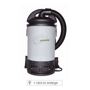Proteam プロチーム 103242 Sierra Backpack Vacuum Cleaner 掃除機 with Comm