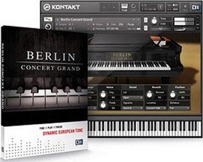 ◆NATIVE INSTRUMENTS Berlin Concert Grand ネイティブインストゥルメンツ ベルリン コンサート グラン