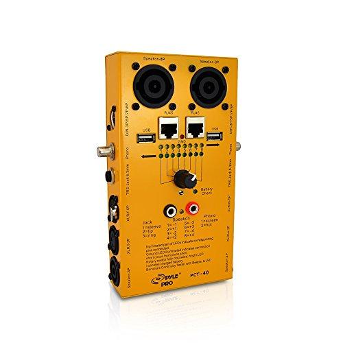パイル オーディオ用ケーブルテスター 導通チェッカー