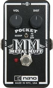 ◆ELECTRO-HARMONIX Pocket Metal Muff