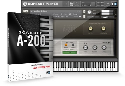 ◆NATIVE INSTRUMENTS Scarbee A200 A-200 ネイティブインストゥルメンツ エレクトリック・ピアノ エレピ