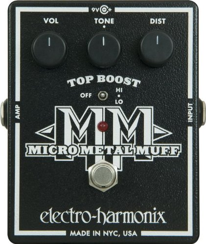 ◆ELECTRO-HARMONIX Micro Metal Muff