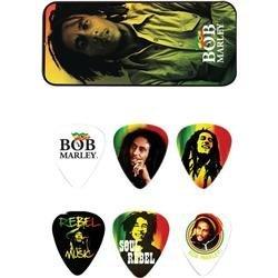 Dunlop Bob Marley Rasta Man Pick Tin with 6 Heavy ピック