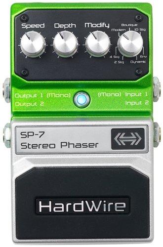 Digitech Hard Wire SP-7 Stereo Phaser デジテック ハードワイヤー ステレオ フェイザー ギター エフェ