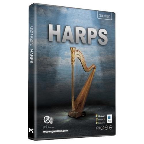 ◆ダウンロード版◆国内未発売◆GARRITAN HARPS ARIAエンジン◆ハープ音源◆