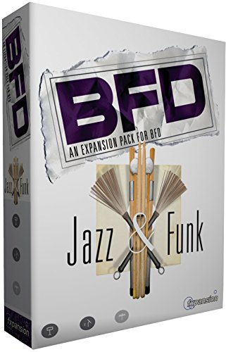 ◆BFD Jazz & Funk Expansion Pack BFD用拡張音源
