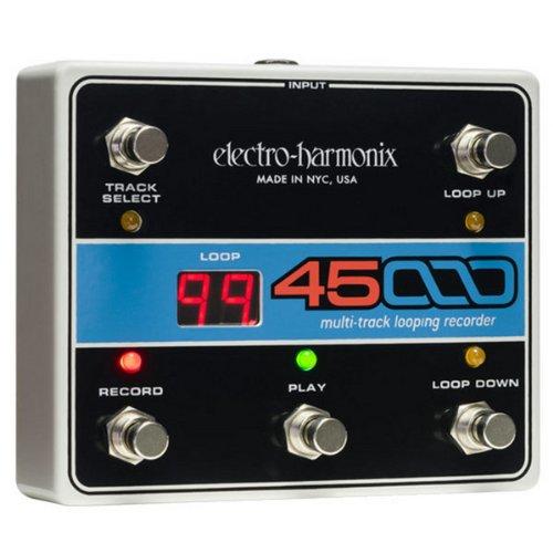 ELECTRO-HARMONIX 45000 Foot Controller 4トラック マルチ ルーパー レコーダー