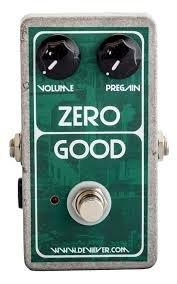 Devi Ever Zero Good デビエバー ゼログッド ファズ ギター ペダル