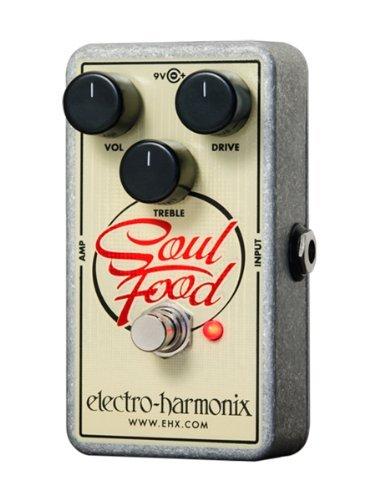 Electro-Harmonix (エレクトロハーモニックス) Guitar ディストーション エフェクトペダル (Soul Food)