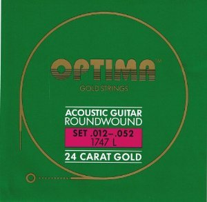 Optima Gold Acoustic Strings