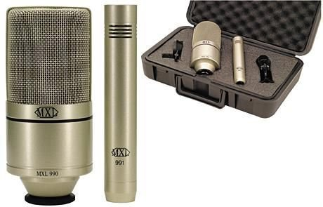 MXL エムエックスエル 990/991 Kit レコーディング コンデンサーマイク セット ボーカル ギター 990 991