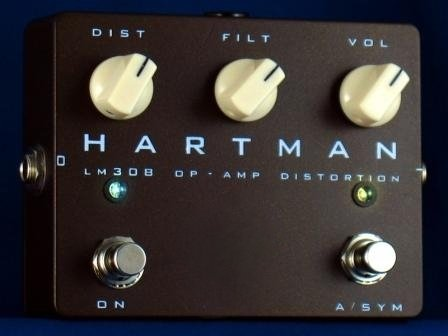 Hartman LM308 OP AMP Distortion
