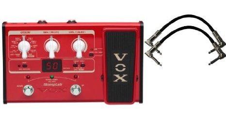 Vox Stomplab2B Bass エフェクトペダル w/(2) 6