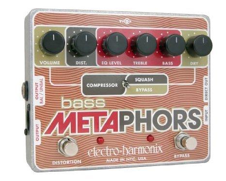 Electro Harmonix (エレクトロハーモニックス) Bass Metaphors Compression/ディストーションペダル