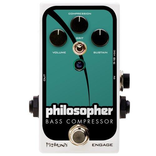 Pigtronix Philosopher's Bass Compressor ピグトロニクス ベース 用 コンプレッサー エフェクター